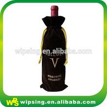 Velvet gift wine bag, cheap and fine wine bag, master of art