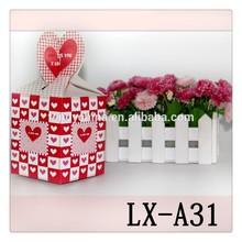 China custom printing design decorative packing box for christmas