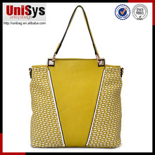New product Promotion braid design lady handbags bling