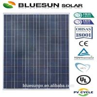 25years warranty Bluesun polycrystalline silicon 250w the lowest price solar panel