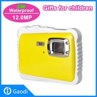 12M underwater digital camera 2.0inch TFT LCD 4X Zoom Kid Child Digital Waterproof Camera