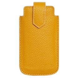 Texture cell phone purse with magnetic top closure
