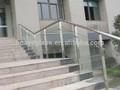 laminado de segurança vidro corrimão de escadas
