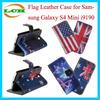 Retro Flag Design Flip Case for Samsung Galaxy S4 Mini i9190