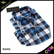2015 China wholesale cotton check shirt fabric