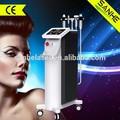 2015 metálicos situados fraccional RF micro aguja de la máquina de rostro masaje con cabeza de enfriamiento con CE aprobado