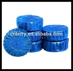 Blue power hygienic toilet blocks