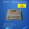 Made in China 50A Solar controlador de carga da bateria 12 V 24 V controlador de carga inteligente Solar