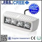 "Boat Lighting Accessories Square White Led Work Light 5"" 1100Lm 20W MARINE LIGHTS"