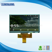 7.0 INCH TFT LCD module with1024*600 resolution,153.6*90.00 active area,LVDS interface and 40 PIN