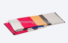winter thick stripes imitation cashmere shawl, trendy large shawl