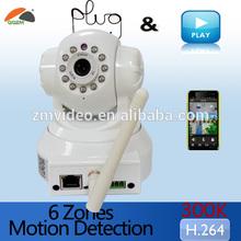 Wireless P2P Indoor Cam IR Wifi Security Network IP Camera IOS Apple