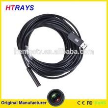 Usb 10M-10mm Snake wire tube with 4LEDs endoscope cmos camera usb