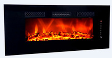 modern LVD touch electric indoor fireplace wall mounted, fireplace with remote control