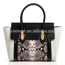 2015 vogue snake nappa fashion trendy designer woman lady handbag 141104