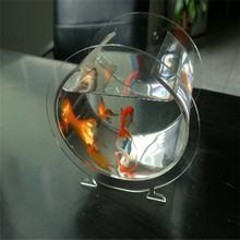 Small wall mount plastic aquarium fish tank