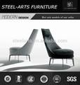 Sencillo Sofa sofá con alta patas de metal, Cómodo con alta backrests sofá