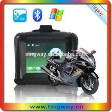 3.5inch best motorcycle gps units/ waterproof gps navigation motorcycle