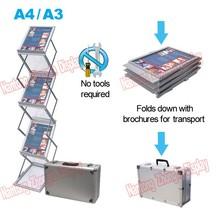 A4/A3 acrylic brochure holder