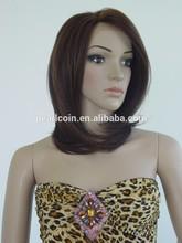 Classy Medium Straight 100% Japan Fiber Lace Front Wig