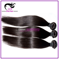"""New Arrival 2015 Top Quality 18"""" 20"""" 22"""" Silky Straight Wave Natural Black Remy Hair Extension Cheap Malaysian Hair"""