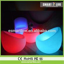 high top LED bar table LED lighting furniture commercial furniture for bar / led table chair lighting