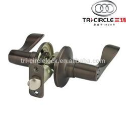High Quality Tubular leverset door lock TC860ET-10B