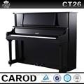 Instrumento musical extranjero y piano chino pulido a mano en color negro