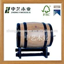High quality FSC OAK wooden wine barrels for whiskey