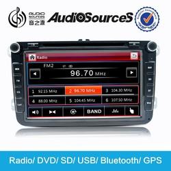 2 din volkswagen golf 5 dvd navigation gps navigator with bluetooth HD video 1080p radio SD USB DVR