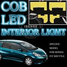 Special Shapes LED Interior Panel Light Cool White 6000K for Honda Fit 2014