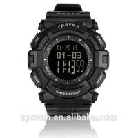 2014 new original design high quality waterproof multifunction sport watch for man
