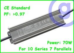 CE standard Waterproof LED driver 70W 2.1A