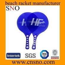 2015 new plastic beach ball rackets