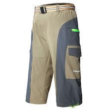 OUTTO #1315 Men's Khaki 3/4 cargo climbing outdoor capri pants M-2XL
