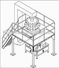 Completamente automático granola cereal de la taza máquina de sellado de relleno con la certificación CE