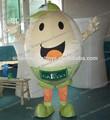 hecho a mano caliente de la venta de cara feliz de huevo traje de la mascota de huevo de disfraces para adultos
