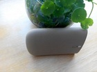 usb battery pack power bank with frosted touch surface