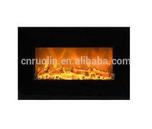 modern cheap led fireplace wall mounted, decor flame electric fireplace