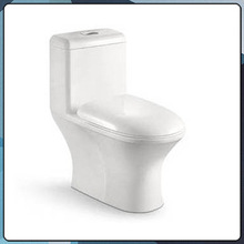 ceramic siphonic one piece white toilet bowl B0810
