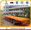 40 ton cheap semi trailer flatbed container trailer