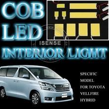 Car LED Auto Light Bulb Interior Dome Reading Light Kit for Vellfire