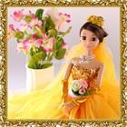 Pretty Barbie Doll With New Model Girl Dress