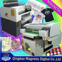 digital flatbed t-shirt cloth printer cloth printing machine
