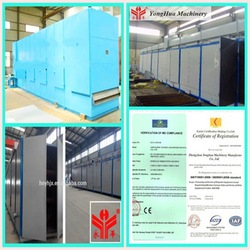 reliable world-famous hot Yonghua briquettes drying equipment&cabinet drying equipment&continuous drying equipment