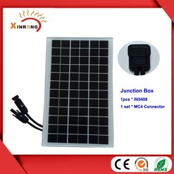 7W 18V Mono Solar Panel Without Frame of Solar Roofing Tile