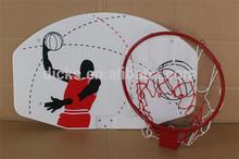 Size Basketball Backboard For Kids With Metal Hoop