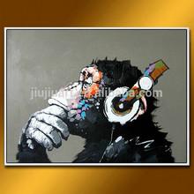 CTD-00883 Animal paintings handmade abstract oil painting