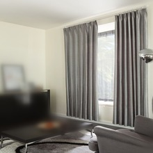 wholesale fashion 100% polyester blackout curtains for home textile