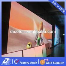 Indoor P6.4 video led advertising billboard/led advertising screen